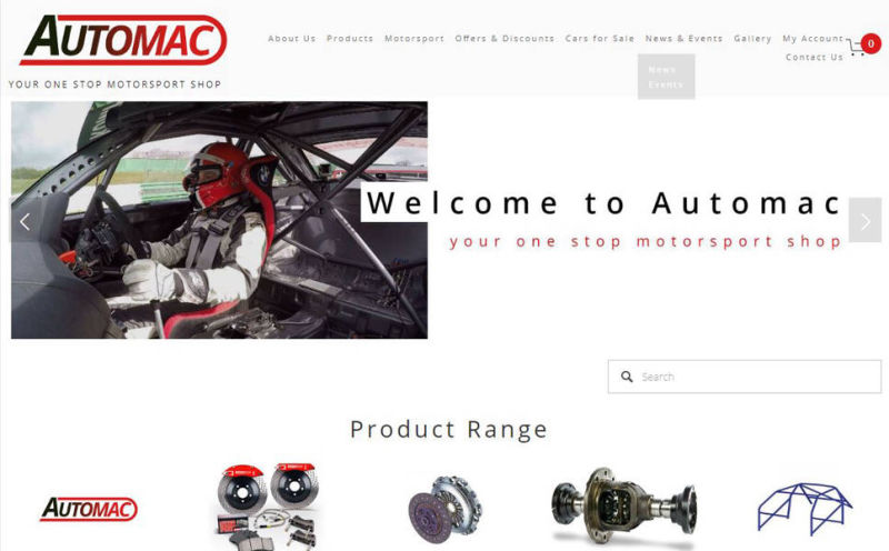 New Automac Website